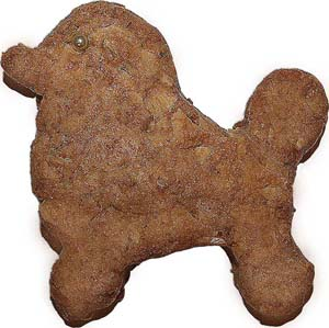 Exciting poodle biscotti!