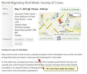 Crow talk